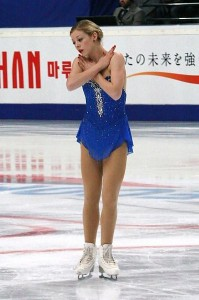 Gracie Gold at the 2012 Rostelecom Cup in Russia. Photo by Wikipedia user Luu