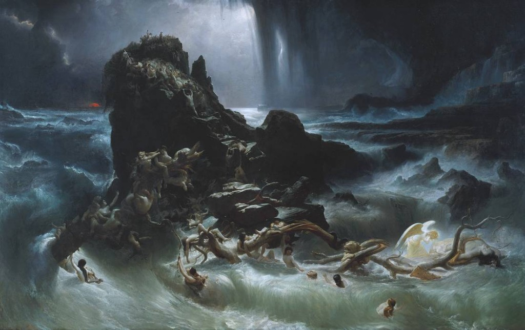 """The Deluge"" by Francis Darby, first exhibited in 1840."