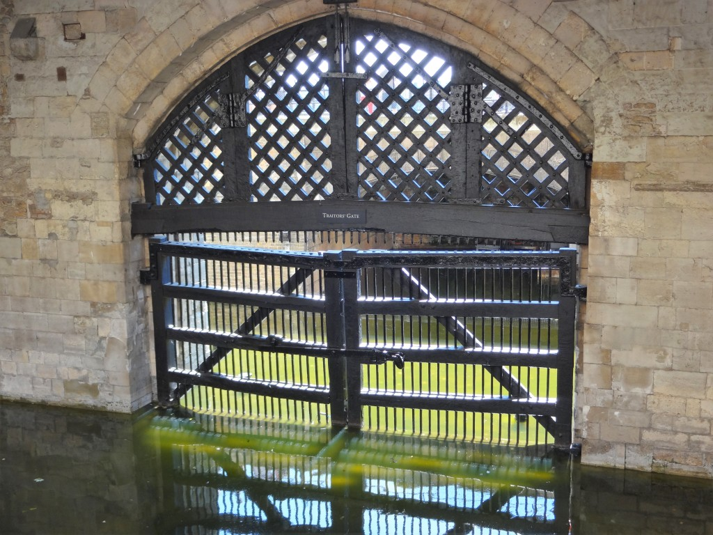 Traitor's Gate at the Tower of London (Author photo)